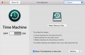 Time Machine for Mac Users